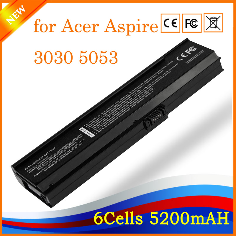 New Replacement laptop battery for Acer Aspire 3030 5053WXMi 5500 Extensa 2400 Travelmate 4310 6