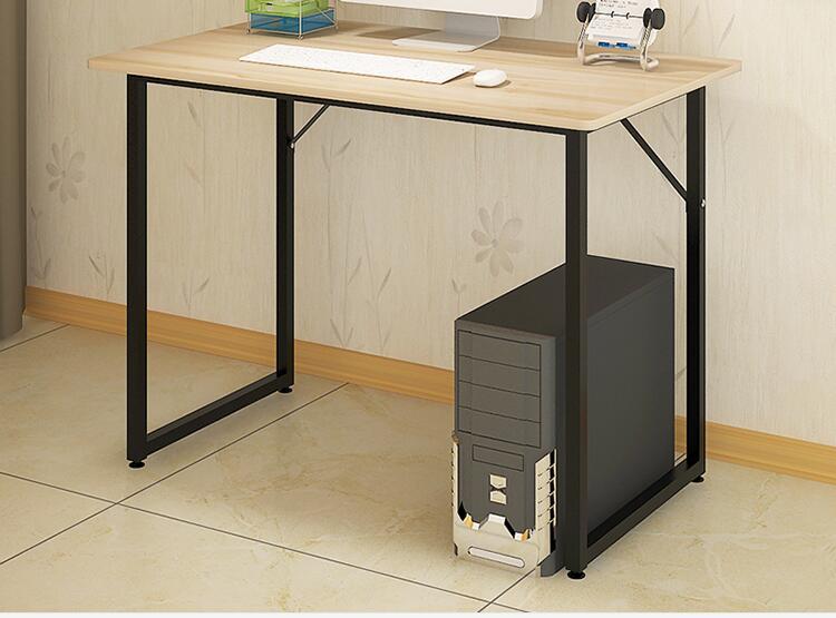 cm de madera moderna mesa de ordenador porttil plegable de mesa de escritorio