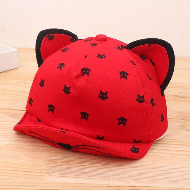 Dreamshining bebé oídos sombrero barba historieta del gato de las estrellas  casquillo recién nacido niños sombrero e1e57331388