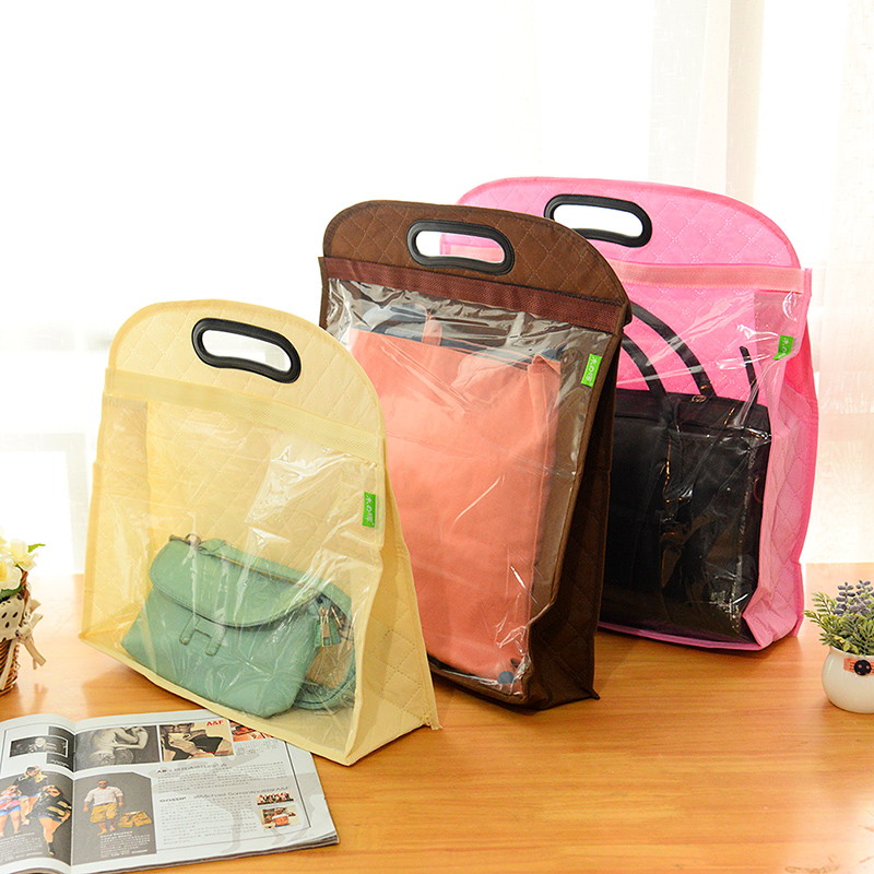 3pcs Lot Non Woven Fabric Dust Bag For Handbag Dustproof Storage Cover