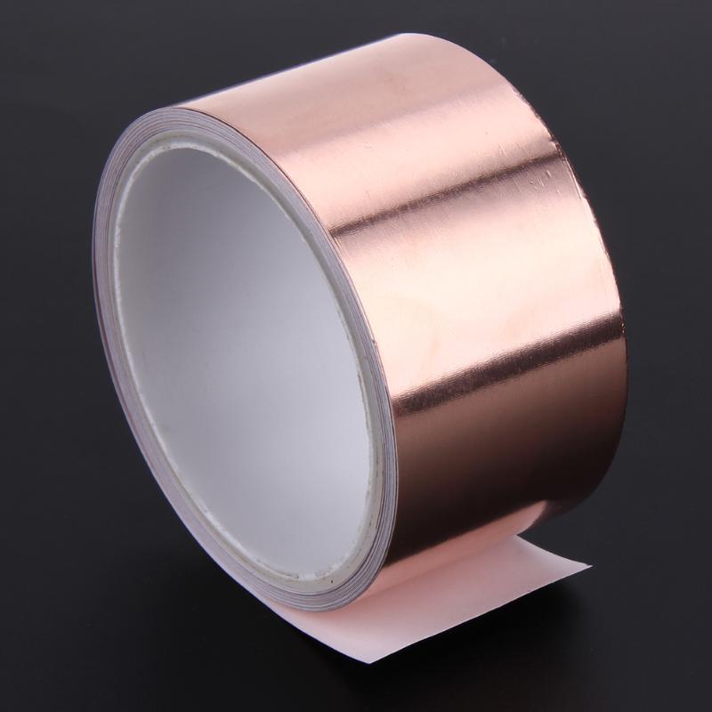 Kupferband Kupferfolie Klebeband Selbstklebend Abschirm Schneckenband LOT