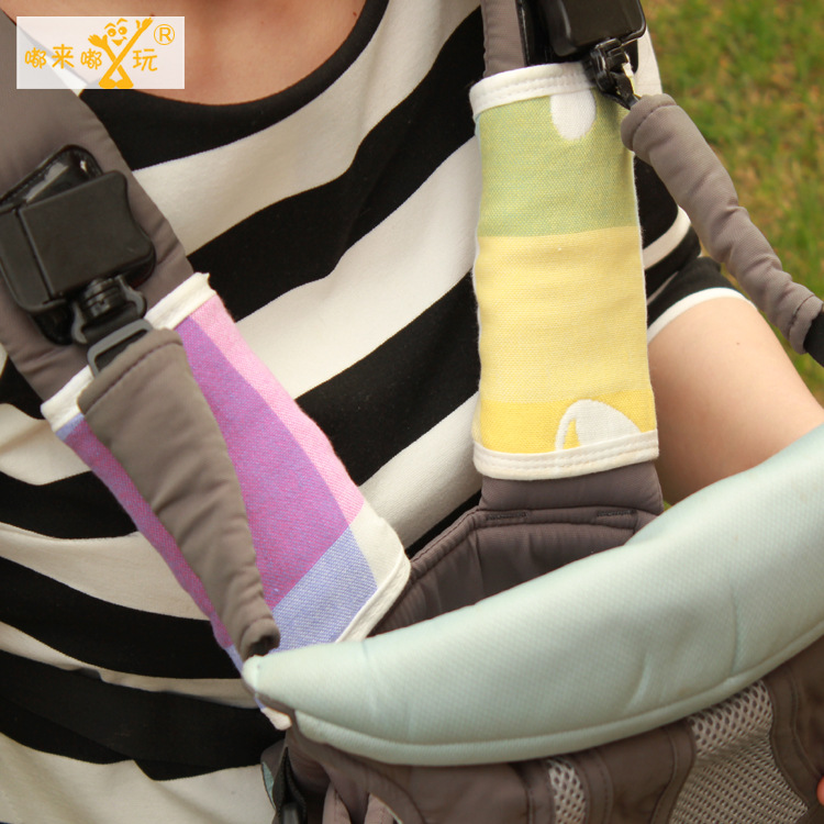 one piece  6 layer gauze strap saliva towel Baby carrier accessory saliva towel manduca accessory