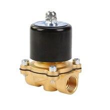 """DN08 DN10 DN15 DN20 DN25 1/"""" 3/8"""" 1/"""" 3/4"""" """" электромагнитный клапан 12 В 220 В пневматический клапан для воды, масла, Гелиевого газа"""