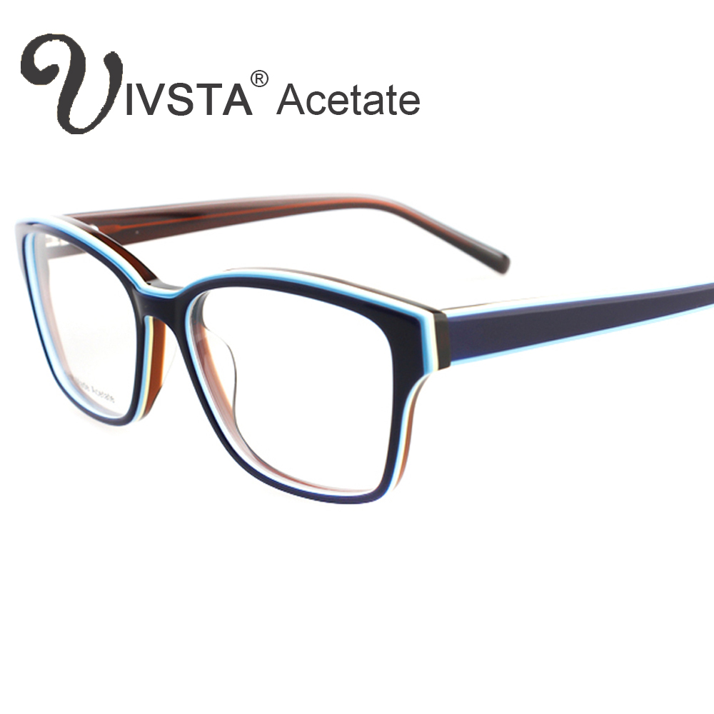 ivsta women glasses frames branded design handmade acetate optical cat eye butterfly demi tortoise myopia lense cellulose g1280