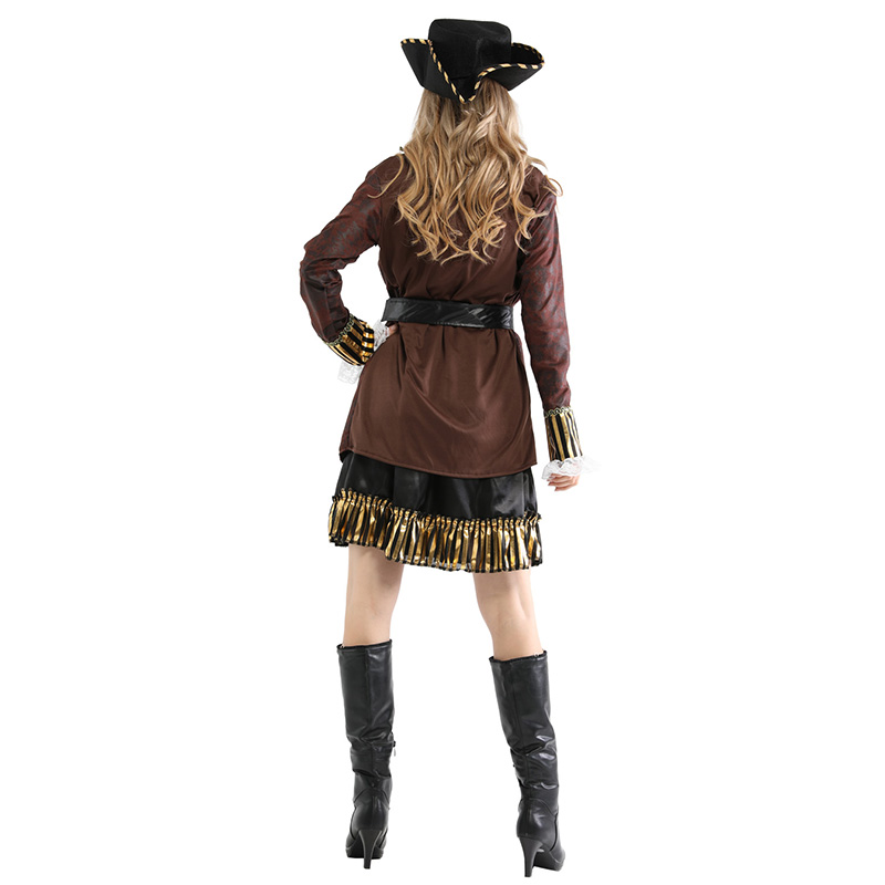 Adult Women Pirates of the Caribbean Halloween Costume 4