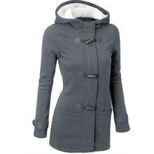 2016 New Winter Jacket Women Long Coat Hooded Slim Outwear manteau femme Plus Size Amazing Oct