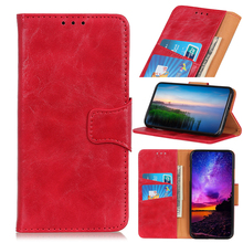 Pull Up Leather Wallet PU Phone Case For OPPO RENO Z 10X ZOOM A1K K3 R15 Pro R17 Find X