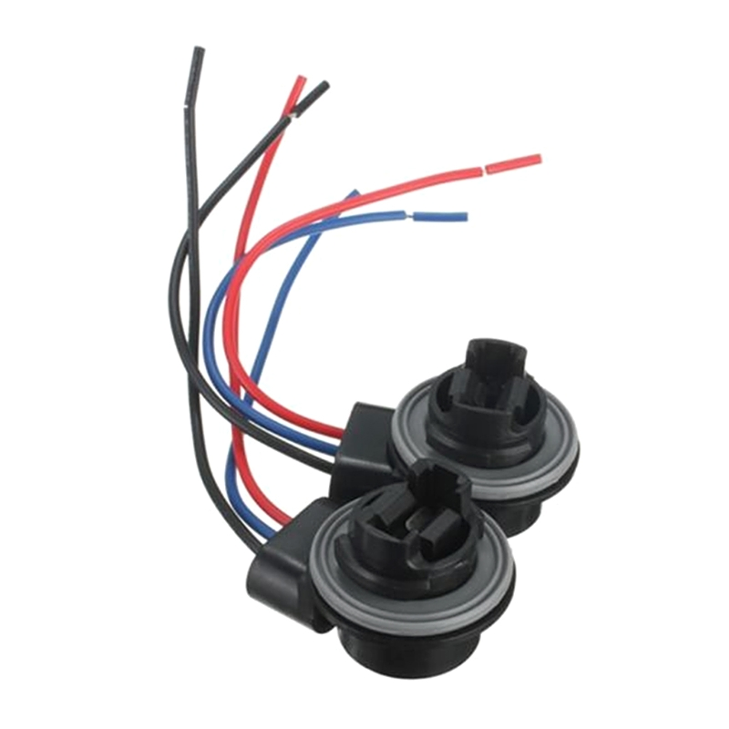 Car Electronics Car Electronics Accessories Shhworldsea 2pcs 3157 3057 3757 4157 4057 4114 3457a 3757a 3357 Led Car Bulb Brake Turn Signal Light Socket Harness Wire Adapter