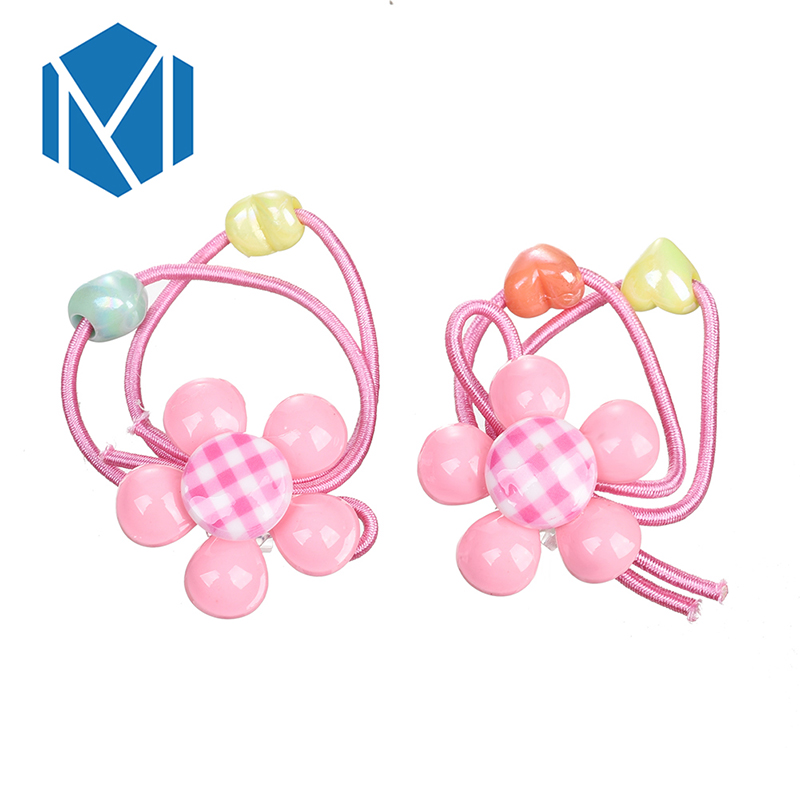 Girls' Clothing Adroit M Mism Child Baby Girls Hair Holders Rubber Bands Elastics Candy Color Lattice Flowers Super Lovely Girls Gift Hair Accessories Easy To Use Back To Search Resultsmother & Kids
