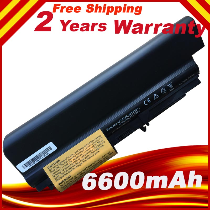 9cells Laptop Battery ASM 42T5265 FRU 42T4548 42T5262 42T5264 for IBM Lenovo ThinkPad R400 R61 R61i T61 T61u T61p T400 7xinbox 15 2v 50wh laptop battery for lenovo asm p n sb10f46441 fru p n oohw003 4icp5 58 73 2