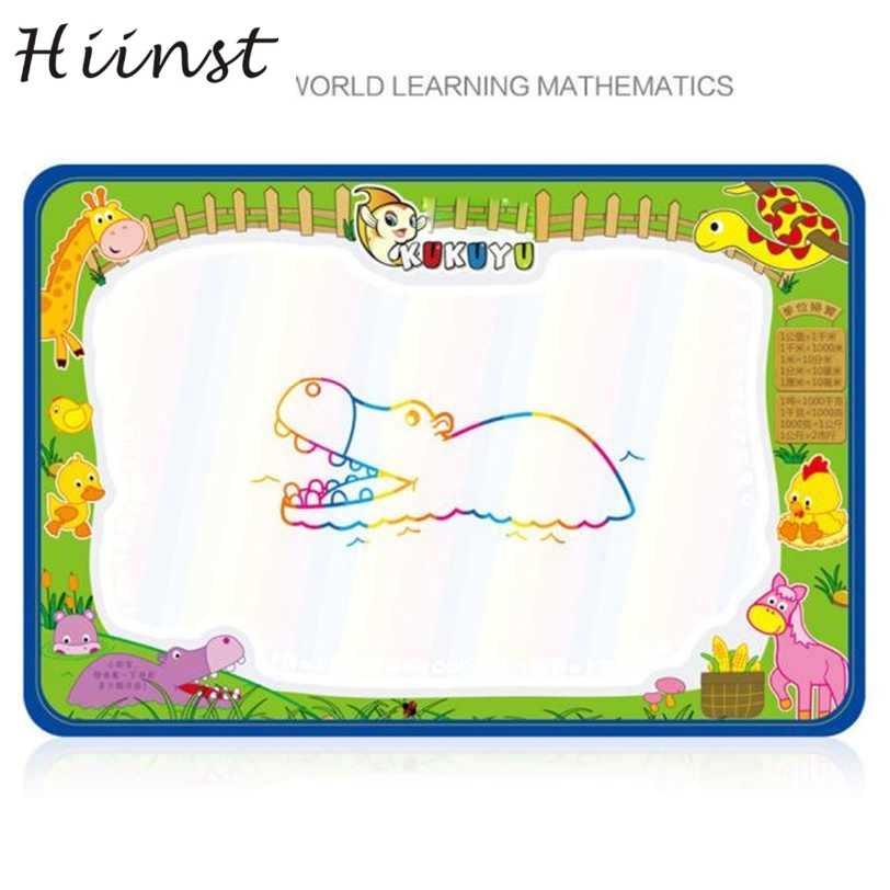HIINSTdrop เรือการวาดภาพน้ำการเขียนกระดาน Mat Board ปากกาเมจิก Doodle ของขวัญ 50 ซม. X 35 ซม. S30Aug15