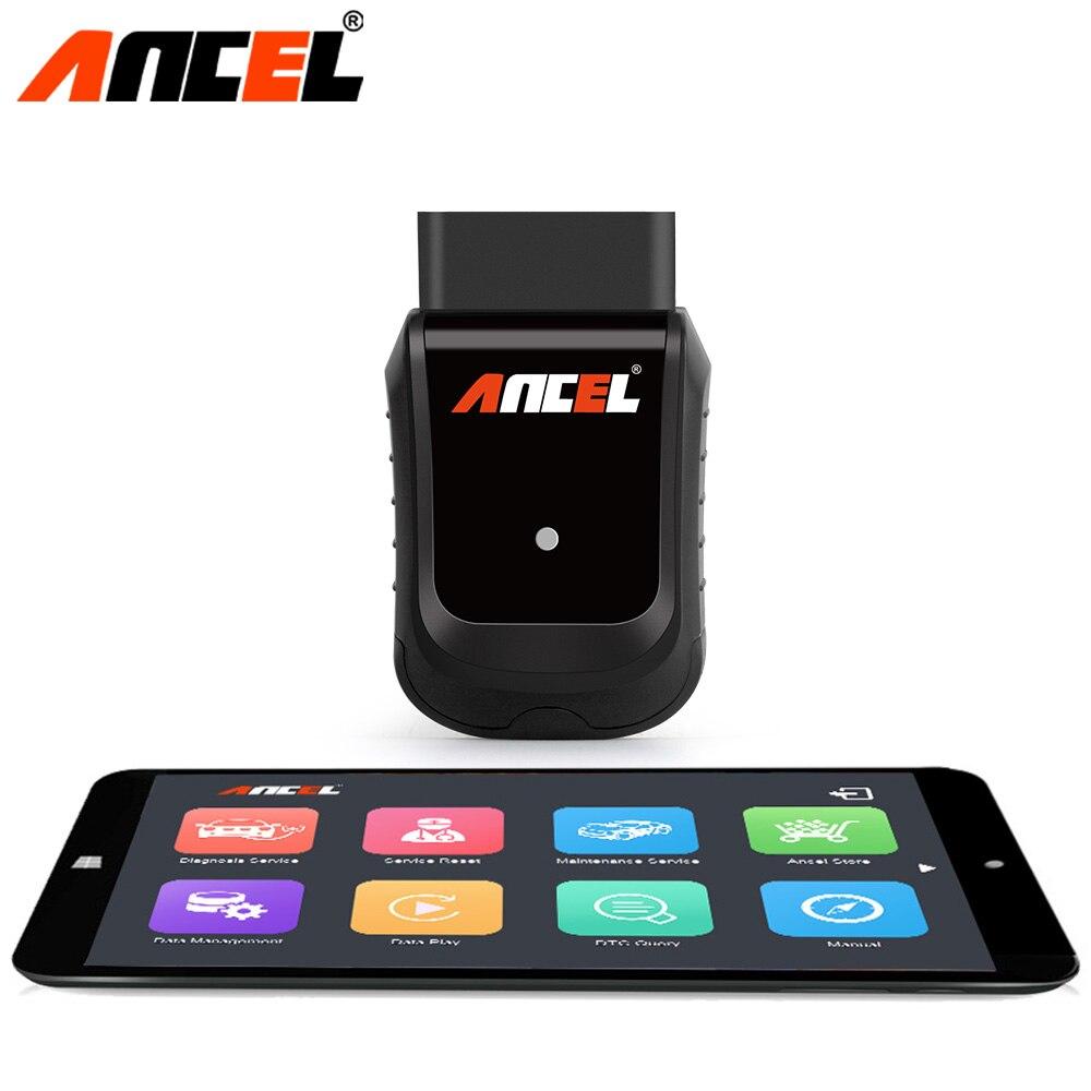 Ancel X5 WiFi OBD2 Automobile Scanner Systèmes Complets De Diagnostic Outil Pour Airbag ABS SAS EPB de Lumière D'huile OBD 2 de Diagnostics de voiture