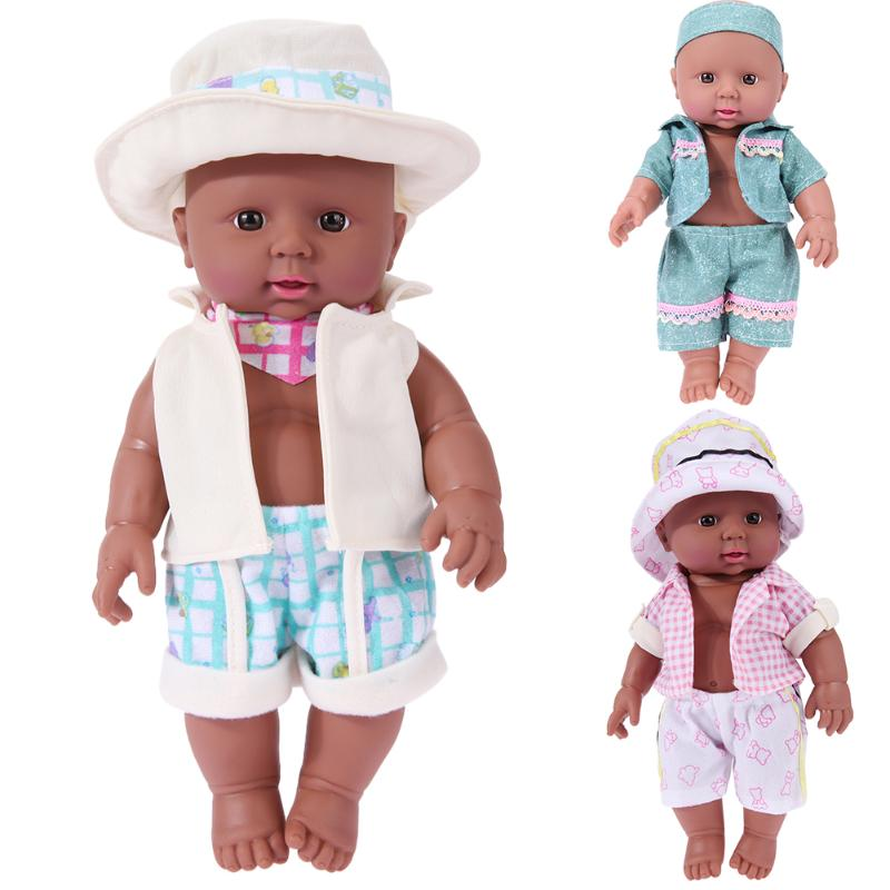 30cm Height Lovely Lifelike Doll Toy Soft Simulation Newborn Baby Boy Doll Kids Pretend Play Game Appease Accompany Toy Gift cognitive bathtub floating toy bathroom game play set early educational newborn gift baby bath toys