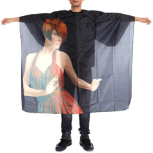 140X120cm Waterproof Adult Salon Gown Wrap Barbers font b Hair b font Cutting Cape Hairdressing Cloth