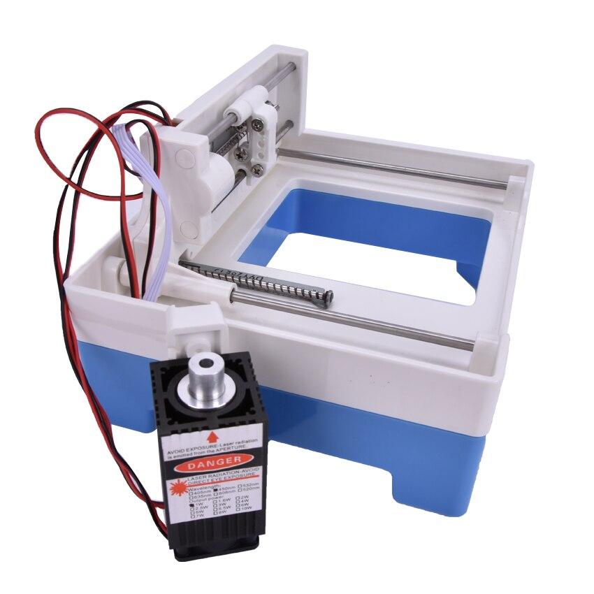 Nuova mini macchina per incisione laser Incisore laser fai-da-te - Attrezzature per la lavorazione del legno - Fotografia 3