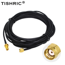 Antenna Cable-Wifi Router Rp-Sma-Extension Male-To-Female RG174 Wi-Fi 6m TISHRIC
