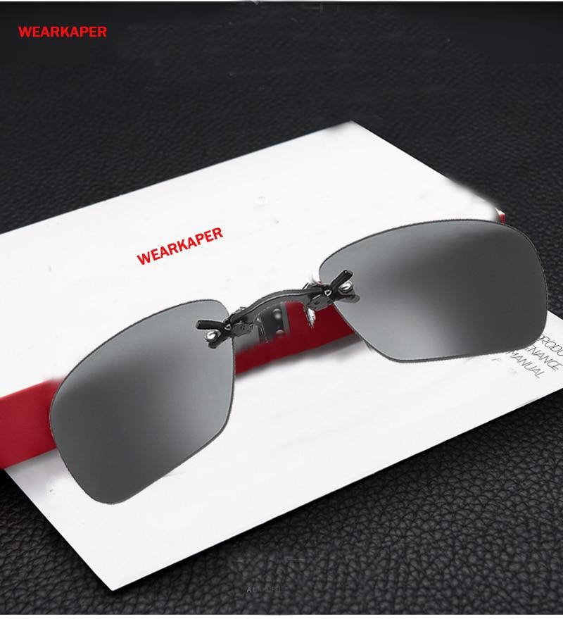8f518f2288c6c WEARKAPER Rimsless Da Apple Estilo Matrix Morpheus Óculos De Sol Dos Homens  Braçadeira Nariz Filme Eyewear Oculos de sol Óculos de Sol Portátil