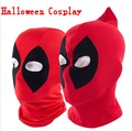 Máscara de Cara completa Máscaras Deadpool Superhéroe Halloween Costume Cosplay Sombreros Sombrerería Balaclava Flecha Partido Cuello Capucha máscara negro