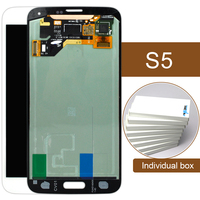 2pcs For Samsung S5 I9600 G900 Lcd Display Screen With Home Button 100 Guarantee Black White