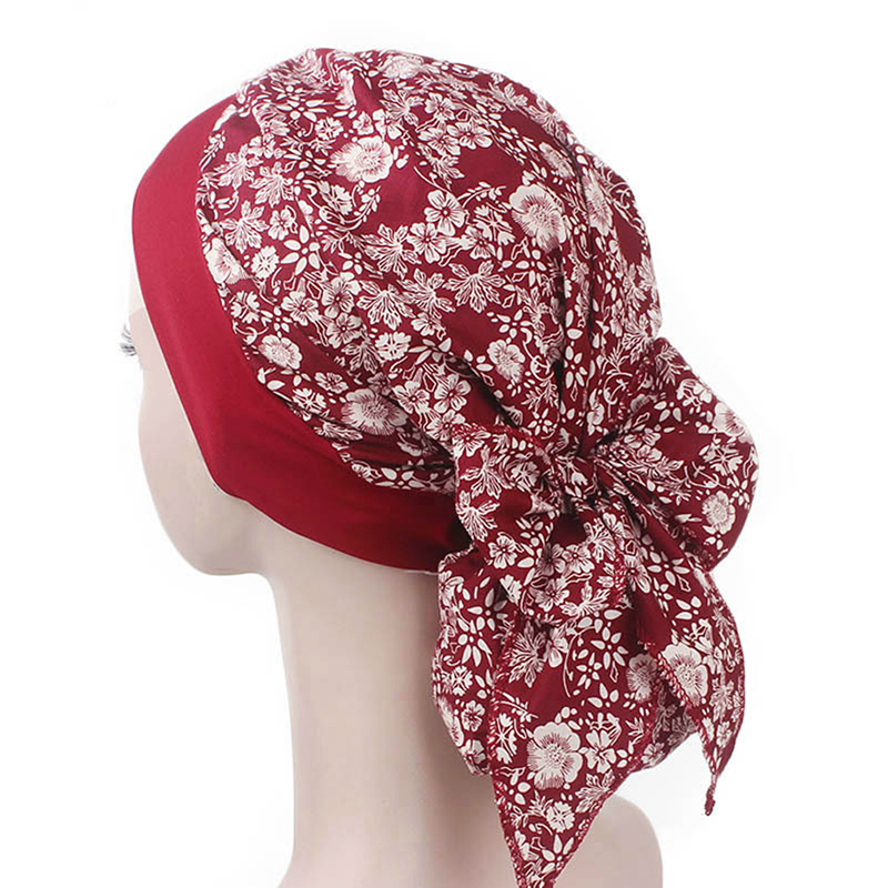 Retro Headscarf Hood Muslim Scarf Hat Rustic Style Muslim Islamic Scarf Women's  Stretch Hair Band Bigsweety