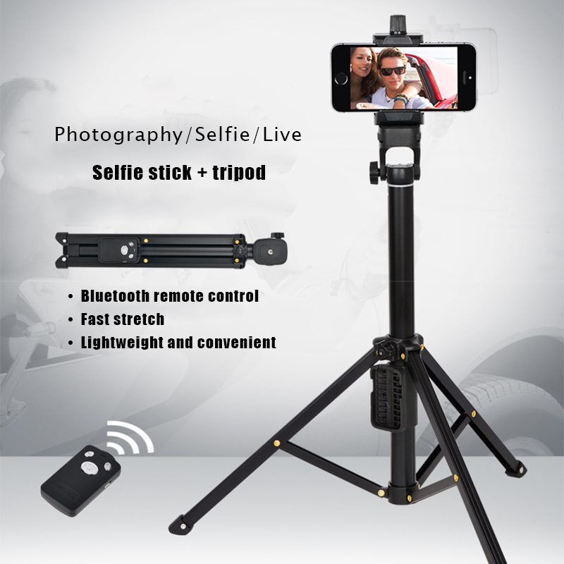 Aliexpress Com Buy Black Camera Tripod Selfie Stick For Iphone For