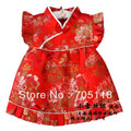 2015 new girl dress  baby clothing Chinese Dress  Cheongsam suits formal dress