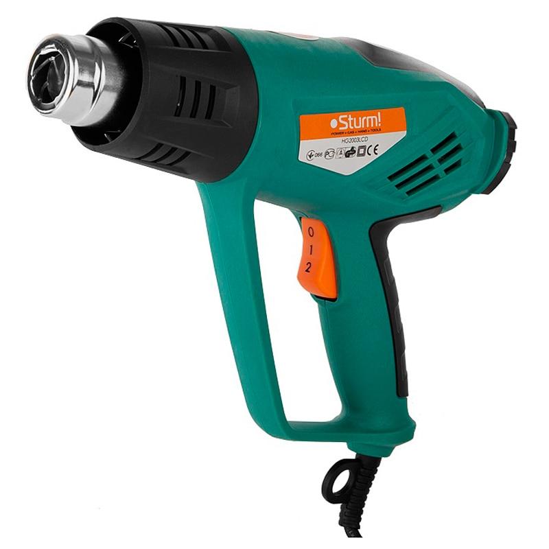 Heat gun Sturm! HG2003LCD heat gun status hag1