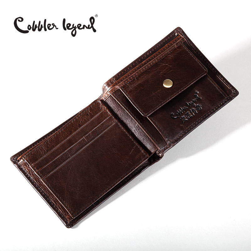 Cobbler Legend Famous Brand Genuine Leather Men Wallets Men's Wallets