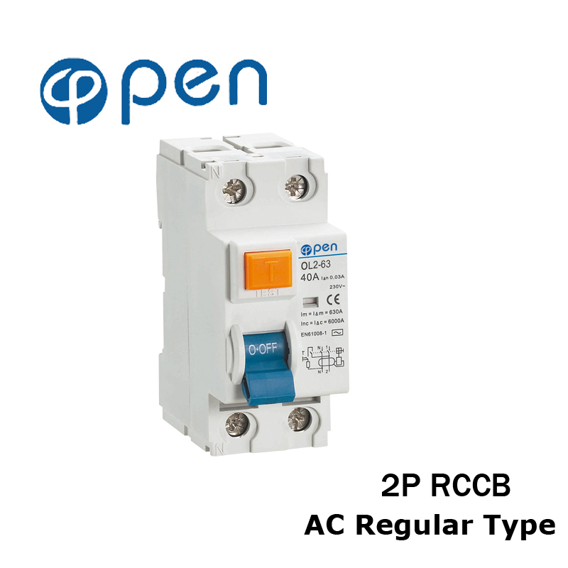 2P 25A/40A/63A/80A/100A AC Type Residual Current Circuit Breaker RCCB OL2-63 Series for Overload and Short Circuit Protection sony nex vg30e