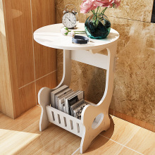 Круглый журнальный столик, журнальный столик, приставной столик, консольный столик, журнальный стеллаж