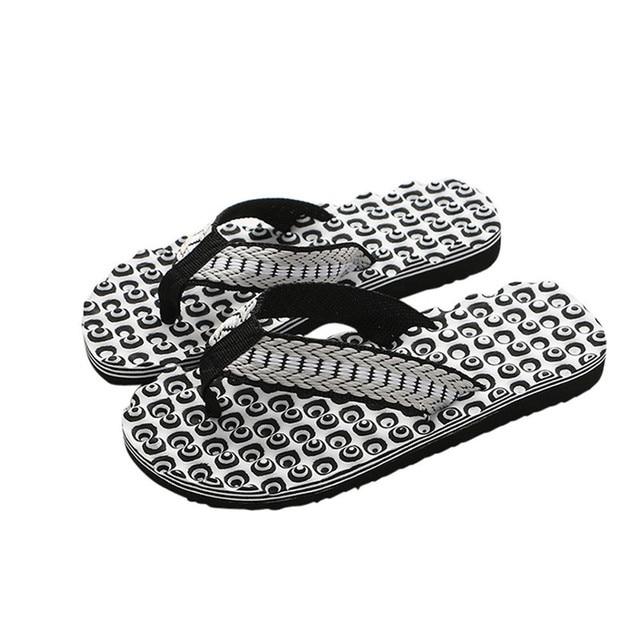 2f1b8745384a5 Men Summer Comfortable Massage Flip Flops Shoes Sandals Male Slipper indoor    outdoor Flip-flops Casual Beach sapato masculina