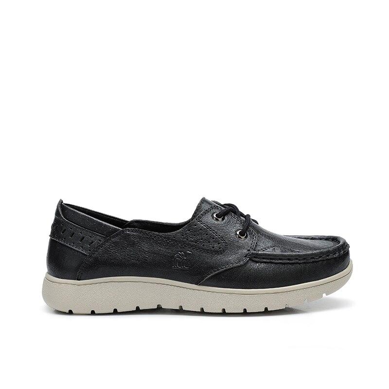 الجمل أحذية نسائية الربيع الصيف جديد جلد طبيعي خفيفة الوزن مريحة السيدات لينة MD تسولي أحذية نسائية-في أحذية نسائية مسطحة من أحذية على  مجموعة 3