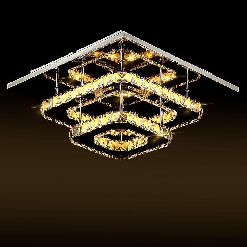 Luzes de Teto modern led de cristal do Utilização : Industrial