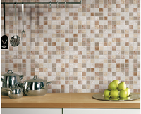 Gold Porcelain mosaic wall tiles for interior Wall/Floor decor,Stylish porcelain Kitchen Backsplash interior wall Tiles