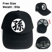 10 unids lote Anime dragón bola sol logo imprimir moda cap sombreros gorra  de béisbol ajustable juguete regalos 86255523029