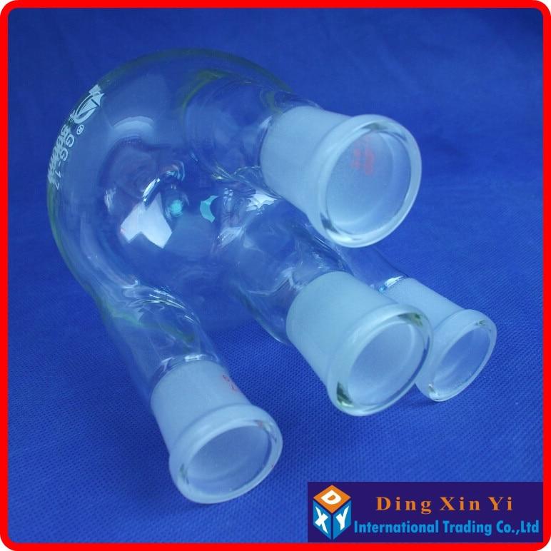 все цены на (2 pieces/lot) 500ml 24/29 four necks round-bottom flask,Flask round bottom with four necks,short neck standard ground mouth онлайн