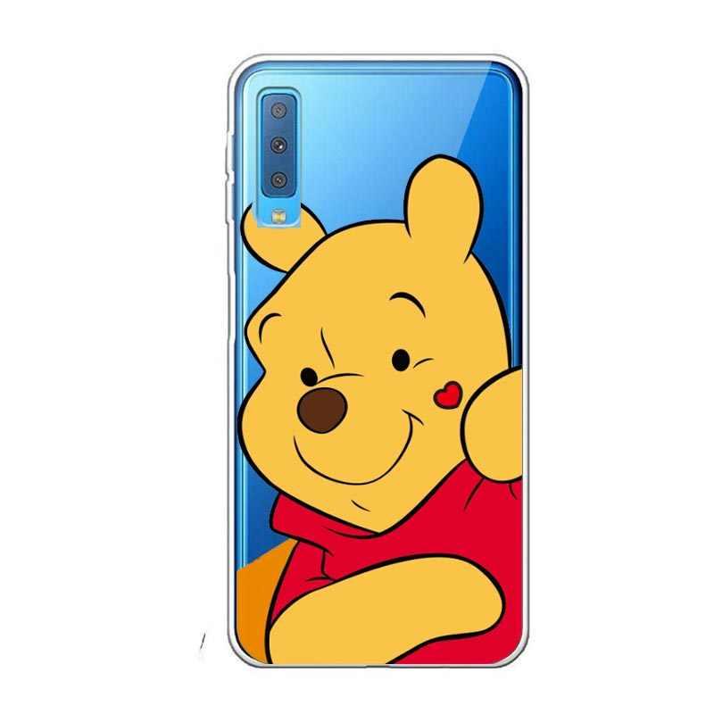 """Para Samsung Galaxy A7 2018 claro y suave de silicona cubierta del teléfono para Samsung A7 2018 A 7 A750F a750 SM-A750F caso 6,0"""""""
