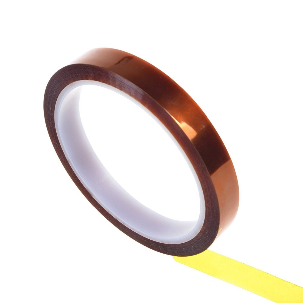 1pc Polyimide Tape Heat Resistant High Temperature Adhesive Insulation Kapten Tape for Electronic Repair 5mm/10mm/15mm/20mm/50mm1pc Polyimide Tape Heat Resistant High Temperature Adhesive Insulation Kapten Tape for Electronic Repair 5mm/10mm/15mm/20mm/50mm