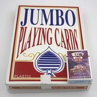 Jumbo playing cards poker, Very Big Size Playing Cards, A 4 Size Playing Cards entertainment for fun.