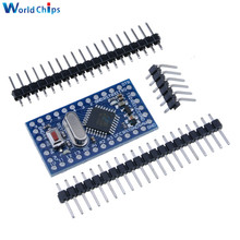 10 pièces Pro Mini atmega328 Mini 328 adaptateur 5V 16MHz Module pour Arduino Nano avec broches doscillateur à cristal remplacer ATMEGA128