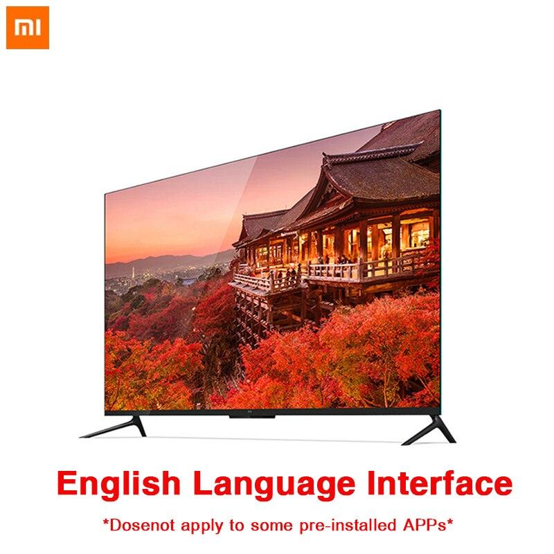 Xiaomi TV 4 55 polegada 4 Real K Inteligente 4.9 milímetros Ultra-fino TV 2 GB + 8 GB formato de reprodução de Suporte de memória cheio de som Dolby DTS-HD