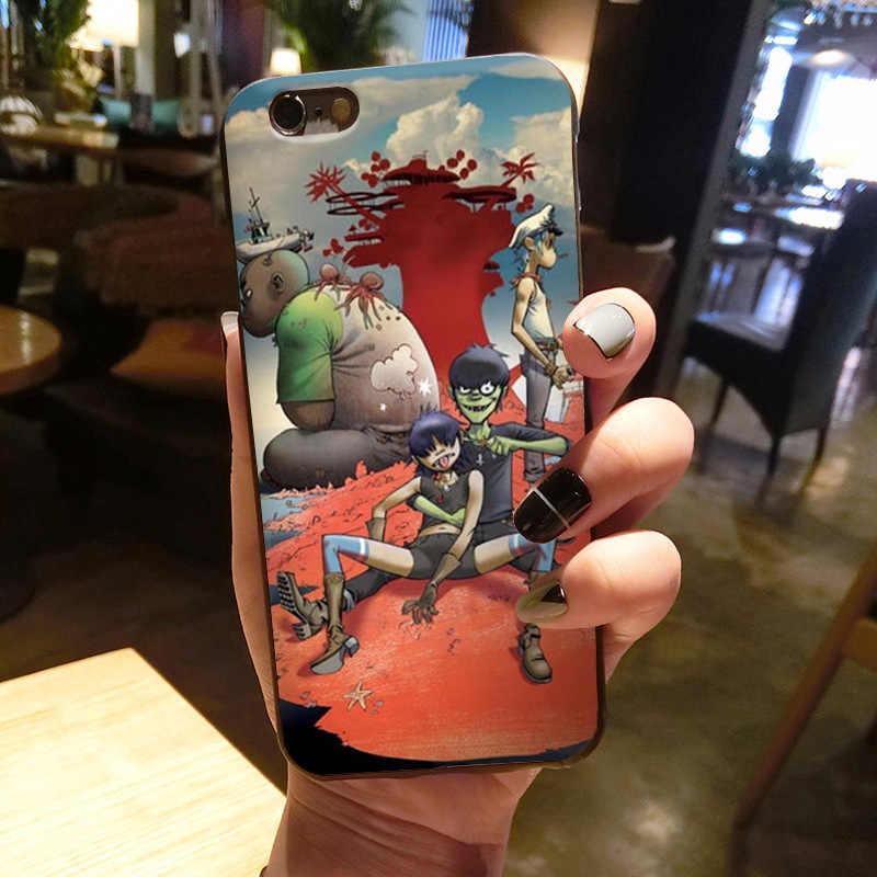 Maiyaca Gorillaz Thuyền Illust Âm Nhạc Tuyệt Vời Hàng Mới Về Ốp Lưng Điện Thoại Cho Iphone 11 PRO 8 7 66S Plus X 5 5S SE XS XR XS Max