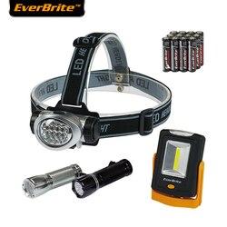 EverBrite 8LED reflektor LED latarka światła awaryjne Camping światła w Latarki czołówki od Lampy i oświetlenie na