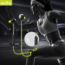 Discount! mifo i8 Workout Bluetooth Earphone Sport Running In-Ear Earbuds Stereo Music Wireless Headset For Iphone Xiaomi Huawei Samsung