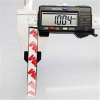 Zion 1m 10x1.5 milímetros forte ímã fita auto adesiva fita de borracha ímã fita magnética flexível largura 10 mm de espessura 1.5 milímetros