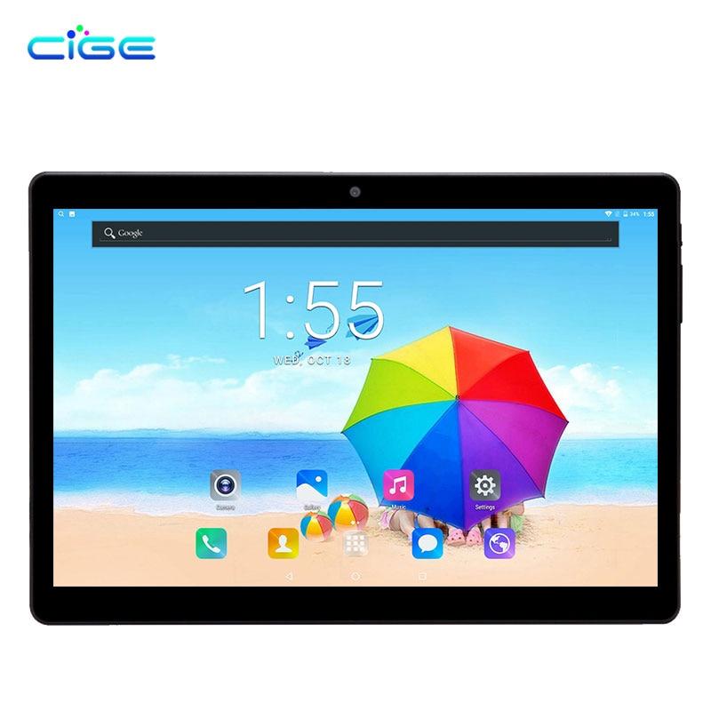 Cige New 10.1 Inch Tablet PC 4G Lte Android Phablet Tab Pad 10 IPS Octa Core 4GB RAM 64GB ROM WIFI BT GPS 1920x1200 free 10 1 inch tablet 3g 4g lte android phablet tablets pc tab pad 10 ips mtk octa core 4gb ram 64gb rom wifi bluetooth gps