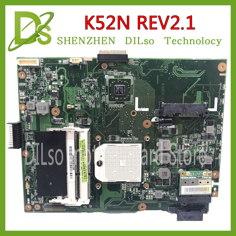 KEFU K52N for ASUS K52N X52N A50N mainboard REV2.1 motherboard For ASUS K52N motherboard integrated Test image