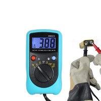 New Digital Battery Voltage Tester Temperature Coefficient Battery Internal Resistance Meter Automotive Measuring Instrument