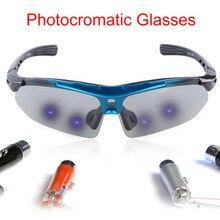 6 Lens Photochromic Cycling Goggles Polarized Sports Sunglasses Men Women MTB Mountain Road Bicycle Eyewear Cycling Glasses Hot