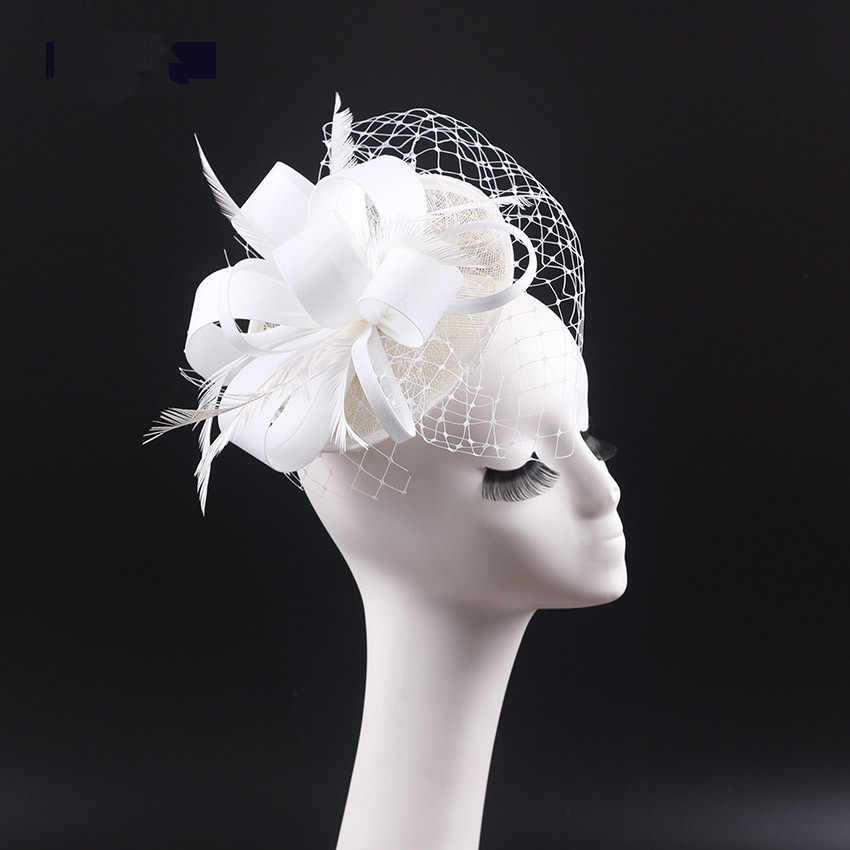 e52d1c1dac7b1 Detail Feedback Questions about Brand Wedding Hats Fascinators Veil ...